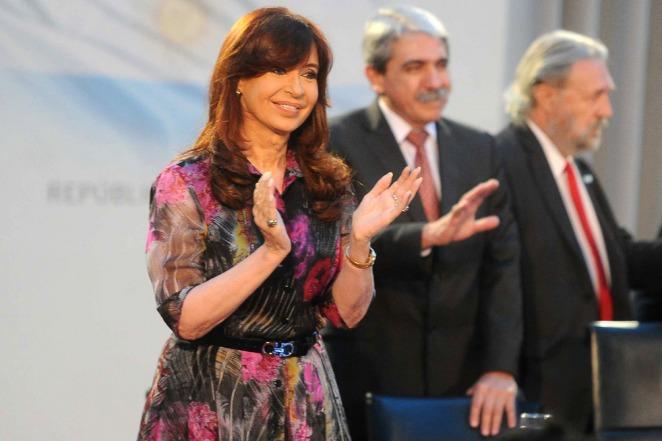 La Presidenta Cristina Fernández de Kirchner