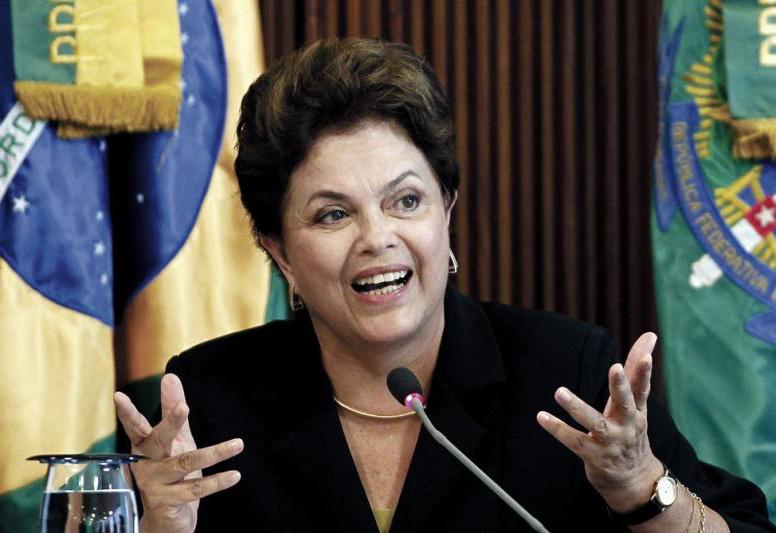 La Presidenta de Brasil, Dilma Rouseff