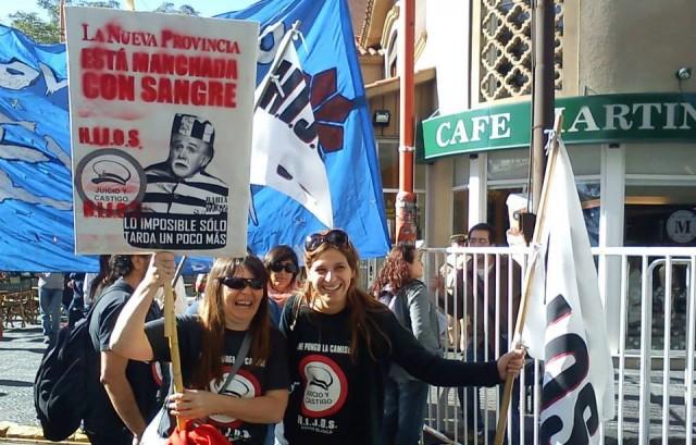 Hijos - manifestación de apoyo a la imputación a Massot