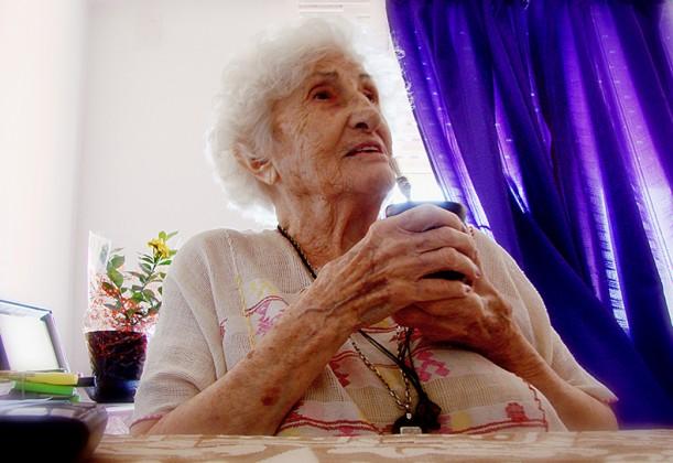 Adelina de Alaye, Madre de Plaza de Mayo (Foto: F.R)