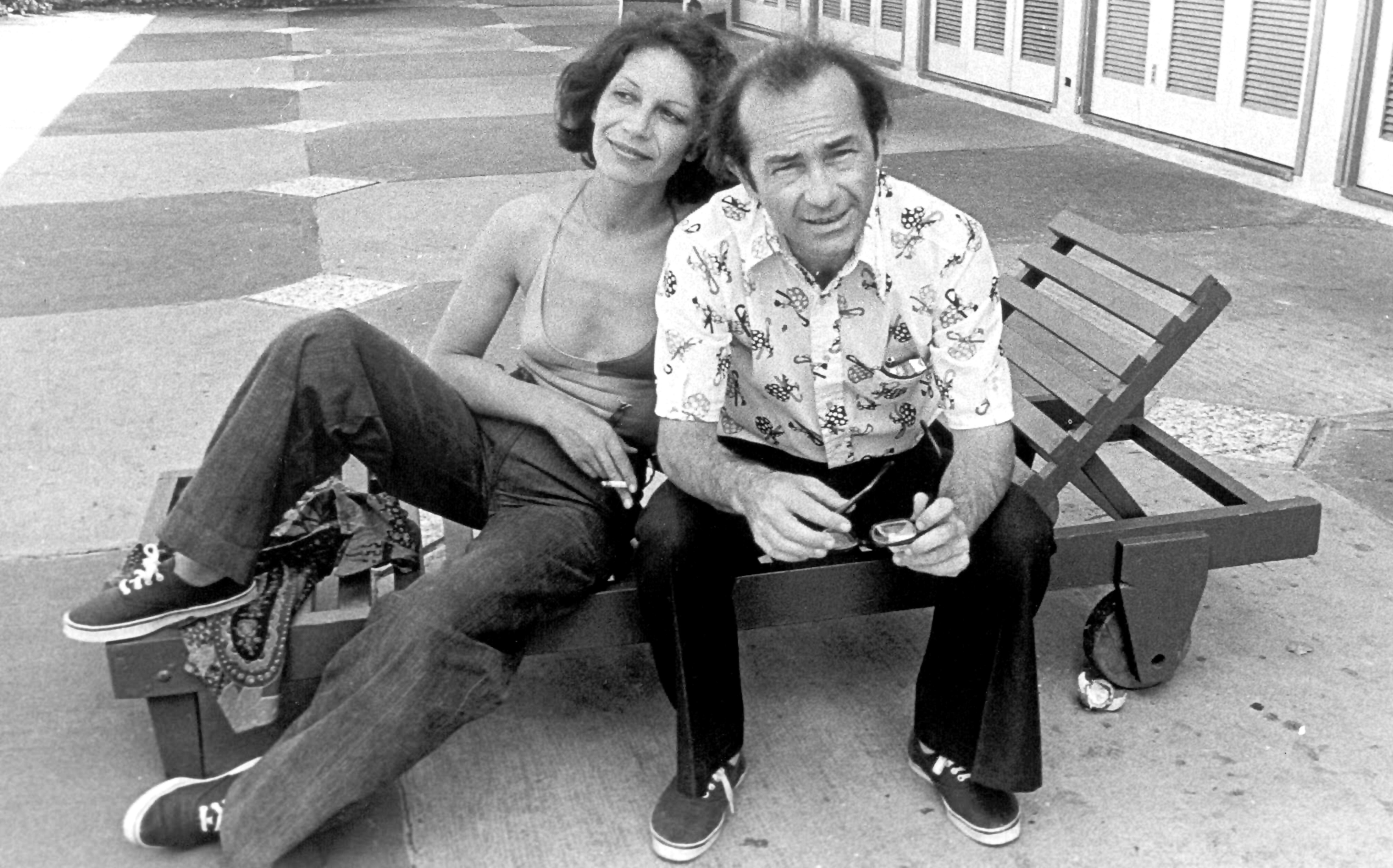 Lilia Ferreyra y Rodolfo Walsh en Cuba