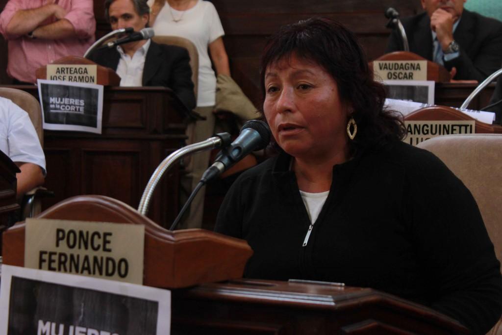Nélida Gamboa Guillen mamá de Sandra Ayala