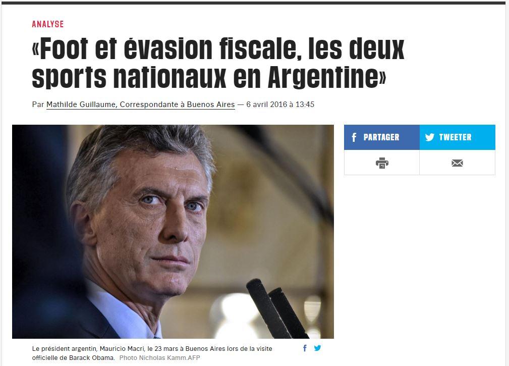 Diario Libération de París, Francia.