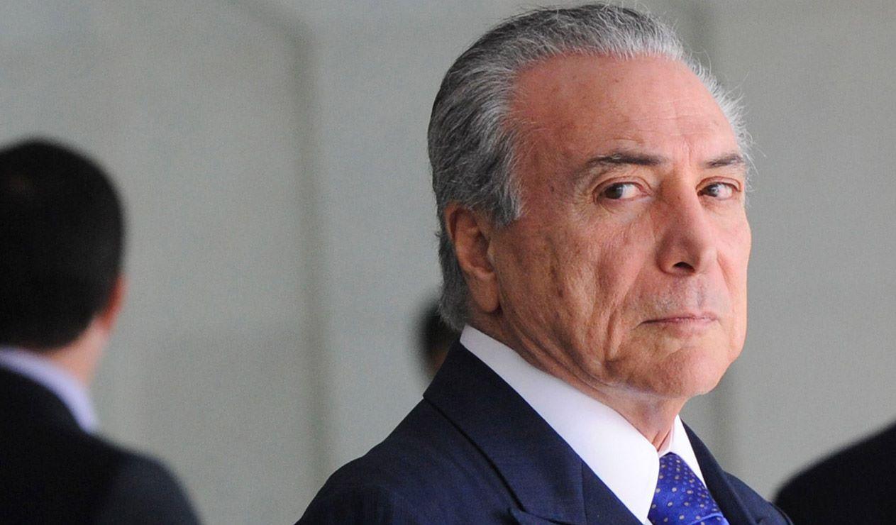 Temer advirtió que una eventual detención de Lula causaría intestabilidad al país