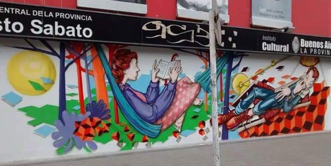 Motta Mural Tapado por cambiemos