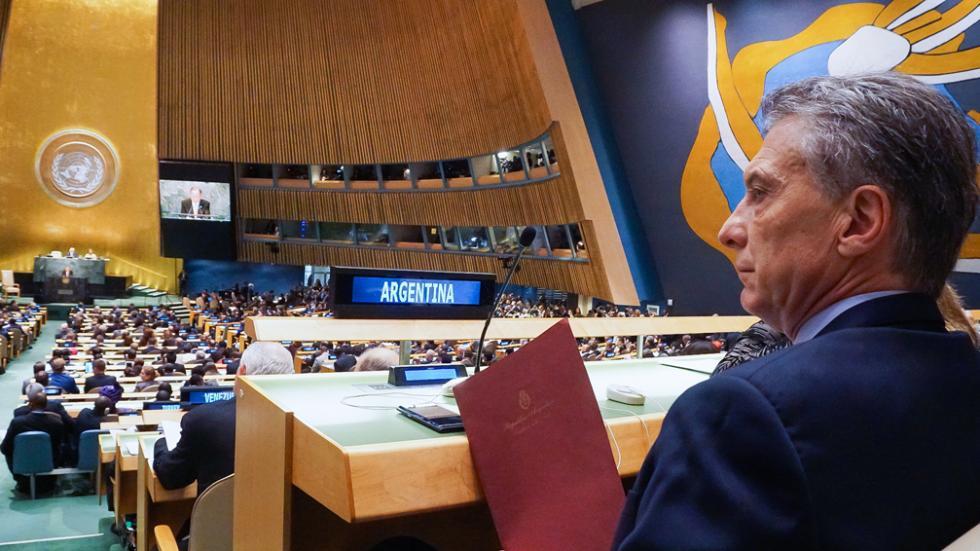 Reunión en la ONU| Argentina denunció a Venezuela ante la Corte Penal Internacional por violar los DDHH