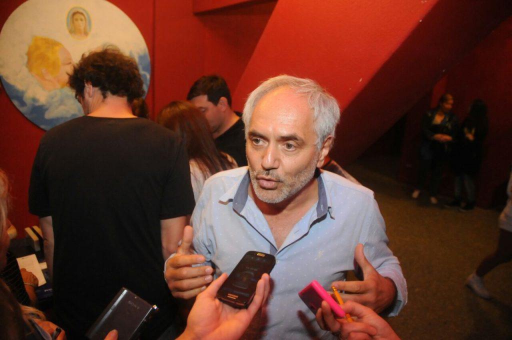 """Marcelo Marán, tras el operativo provincial denunció que fue un """"apriete""""."""